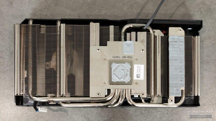 MSI Radeon RX 5500 XT Gaming X 8GB - Disipador desmontado