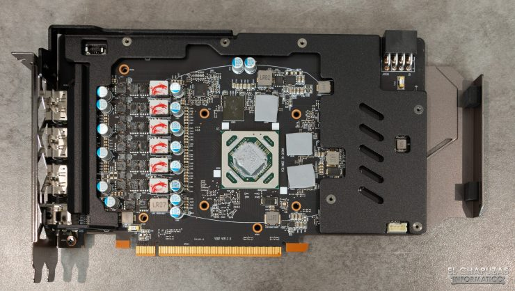 MSI Radeon RX 5500 XT Gaming X 8GB - Frontplate