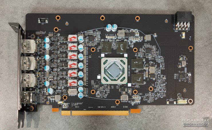 MSI Radeon RX 5500 XT Gaming X 8GB - PCB