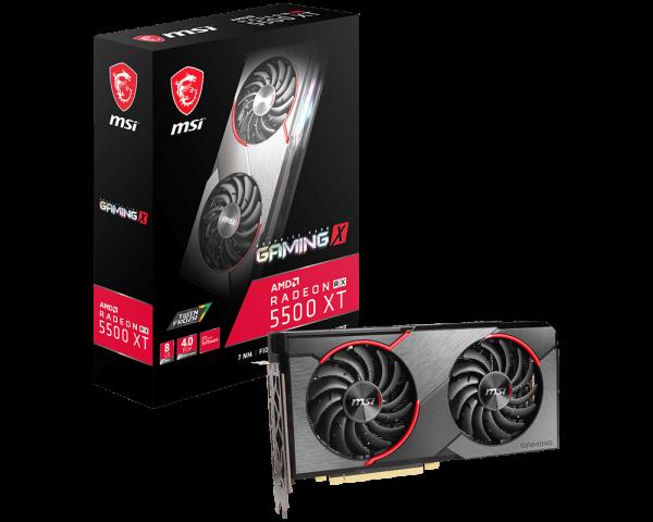 MSI Radeon RX 5500 XT Gaming X 8GB - Oficial