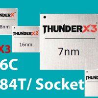 Marvell ThunderX3: Procesador ARM de 96 núcleos y 384 hilos @ 7nm