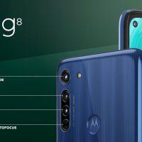 Moto G8: Smartphone de gama media-baja con triple cámara trasera