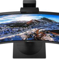 Philips 346P1CRH: Panel VA curvo UWQHD de 34″ @ 100 Hz y 500 nits