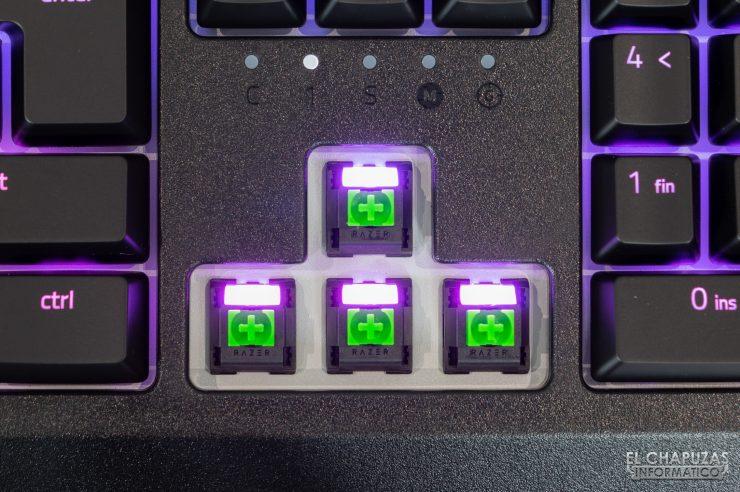 Razer Blackwidow - Razer Mechanical Green Switches