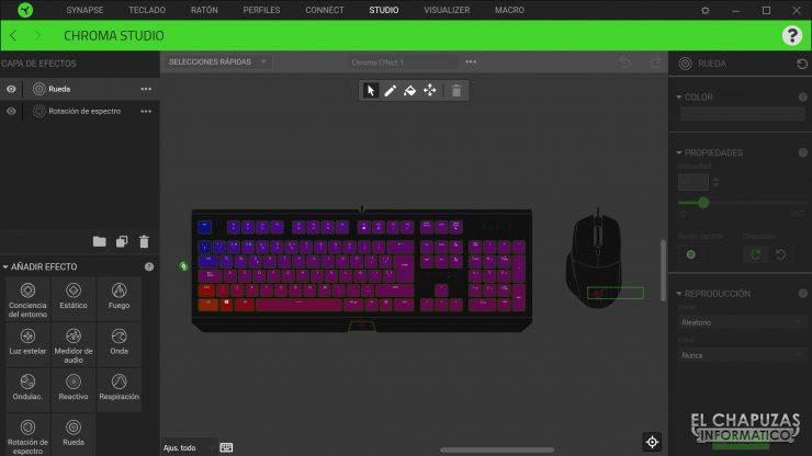 Razer Blackwidow - Software 4
