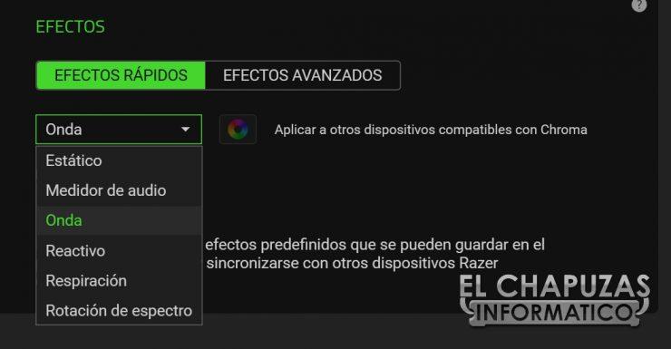 Razer Firefly V2 - Software 2