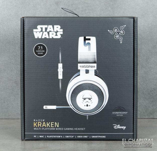Razer Kraken Stormtrooper Edition - Embalaje 1