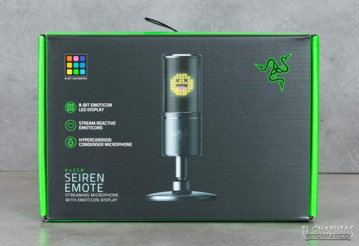 Razer Seiren Emote - Embalaje 1