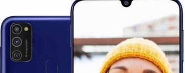 Samsung Galaxy M21: Exynos 9611, triple cámara trasera y 6000 mAh por 160 euros