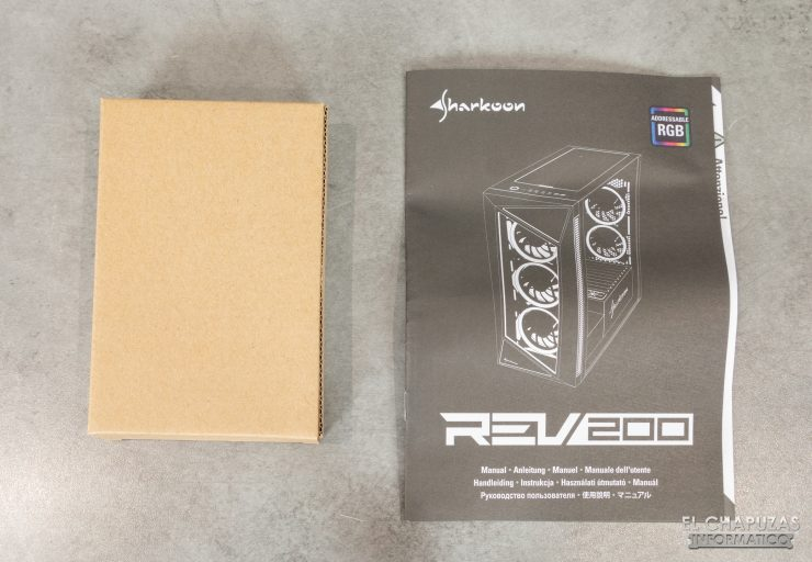 Sharkoon REV200 - Accesorios