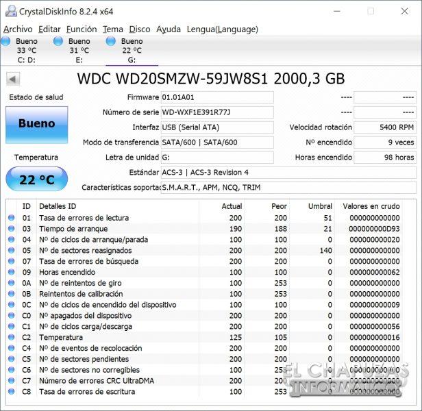 Western Digital WD_Black P10 - Info