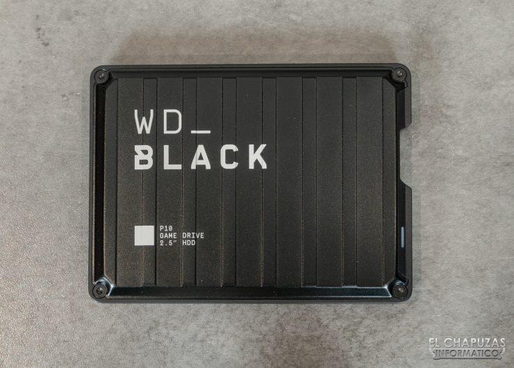 Western Digital WD_Black P10 - Vista superior