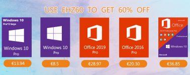Llévate Windows 10 Pro + Office 2016 por 19,52 euros