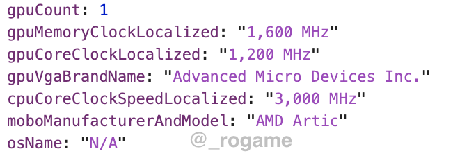 APU AMD Arctic 0
