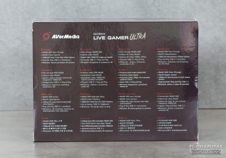 AverMedia Live Gamer Ultra - Embalaje 2