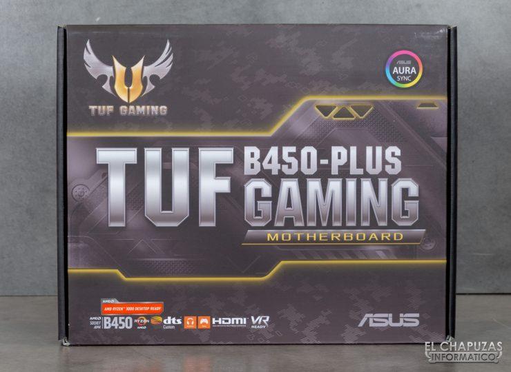 Asus TUF B450-Plus Gaming - Embalaje 1