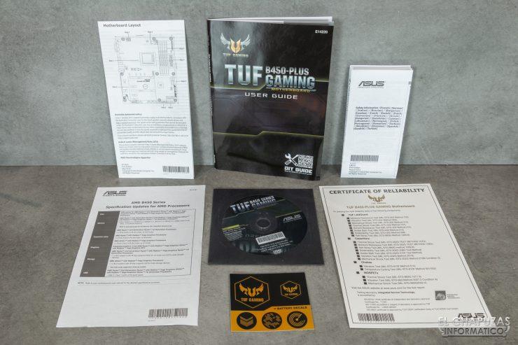 Asus TUF B450-Plus Gaming - Documentación