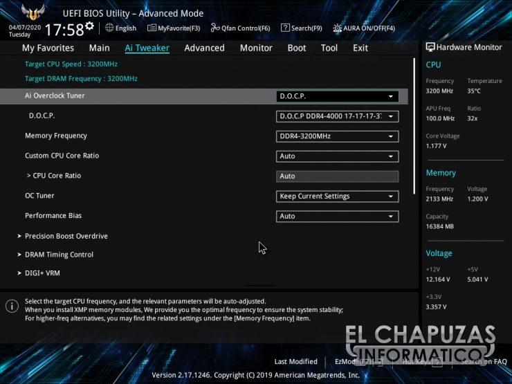 Asus TUF B450-Plus Gaming - BIOS 4