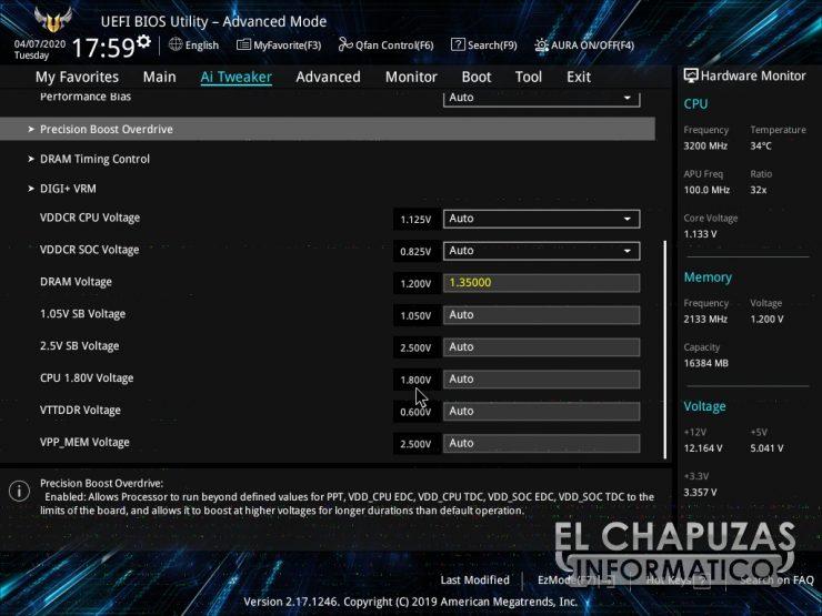 Asus TUF B450-Plus Gaming - BIOS 5