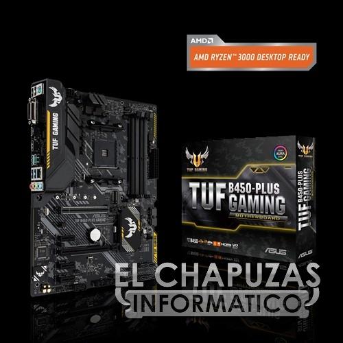 Asus TUF B450-Plus Gaming - Oficial
