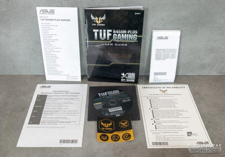 Asus TUF B450M-Plus Gaming - Accesorios 1