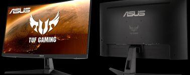 Asus TUF Gaming VG27VH1B:  27″ VA Curvo Full HD @ 165 Hz con AMD FreeSync Premium