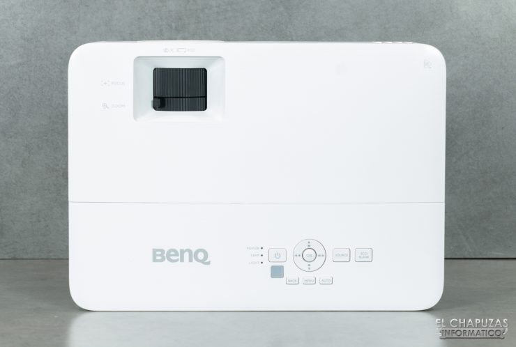 BenQ TH585 - Vista superior