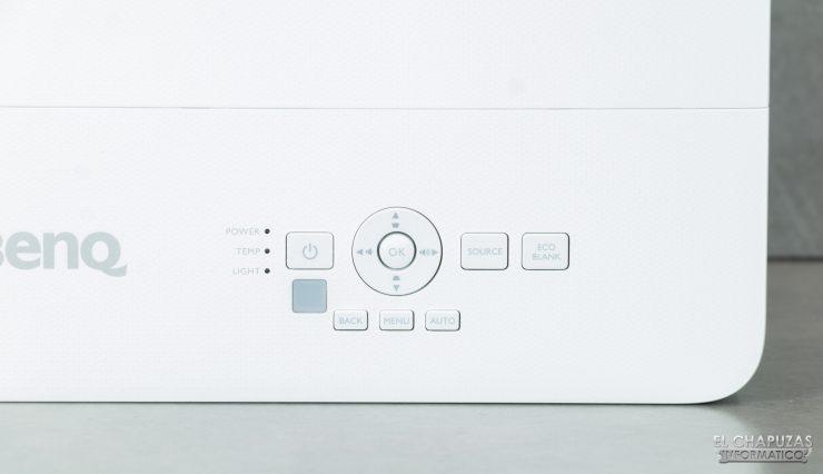 BenQ TH585 - Botones