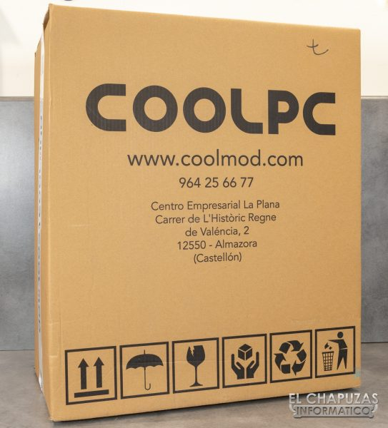 CoolPC Battle Royal - Embalaje exterior