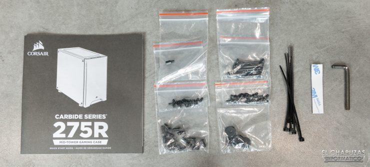 Corsair Carbide 275R - Accesorios