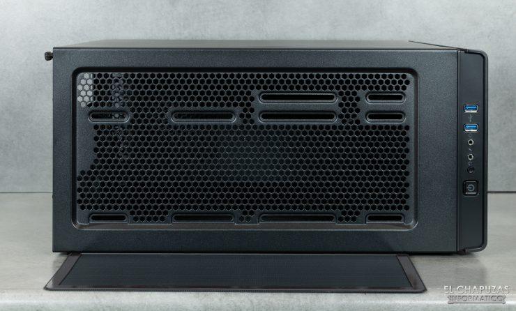 Corsair Carbide 275R - Exterior - Lado superior sin filtro