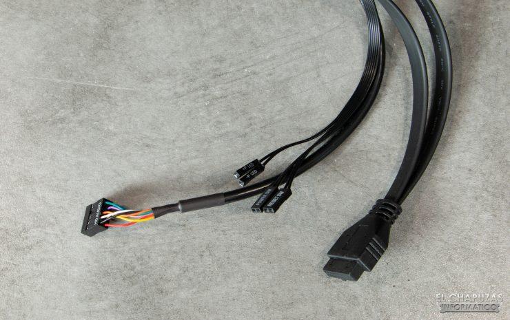 Corsair Carbide 275R - Cableado