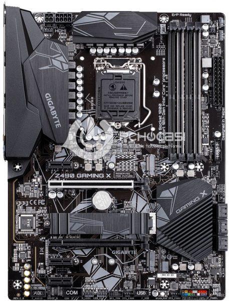 GIGABYTE Z490 GAMING X 457x600 9