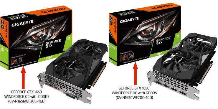GeForce GTX 1650 GDDR6