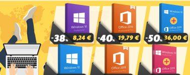 No tendrás perro o hijos para salir de casa, pero sí una licencia de Windows 10 u Office al mejor precio