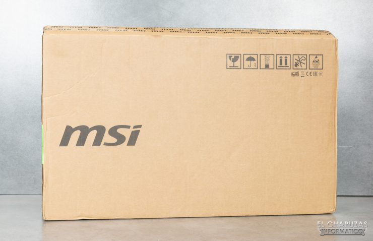 MSI GS66 Stealth - Embalaje 1