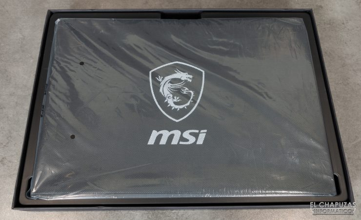 MSI GS66 Stealth - Embalaje 3