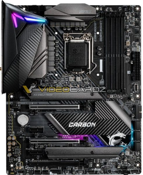 MPG Z490 Gaming Carbon