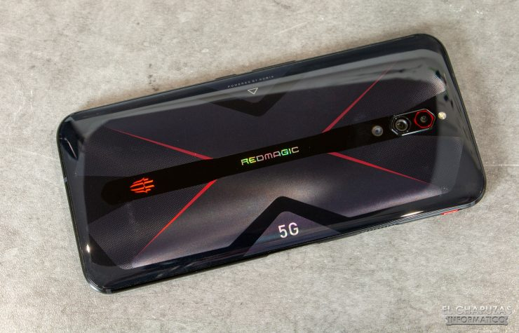 Nubia Red Magic 5G - Vista trasera
