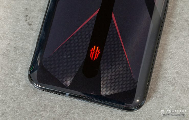 Nubia Red Magic 5G - Vista trasera logo