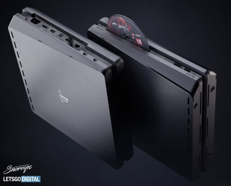 PlayStation 5 concepto diseño definitivo negro 740x596 1