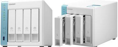 QNAP TS-431K: NAS de 4 bahías con un procesador Alpine AL-214 @ 1.70 GHz