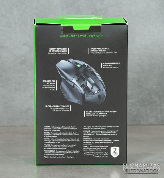 Razer Basilisk X HyperSpeed - Embalaje 2
