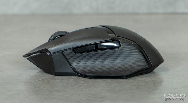 Razer Basilisk X HyperSpeed - Lado izquierdo