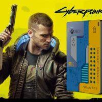 Hasta Seagate lanza un disco duro personalizado con el diseño de Cyberpunk 2077