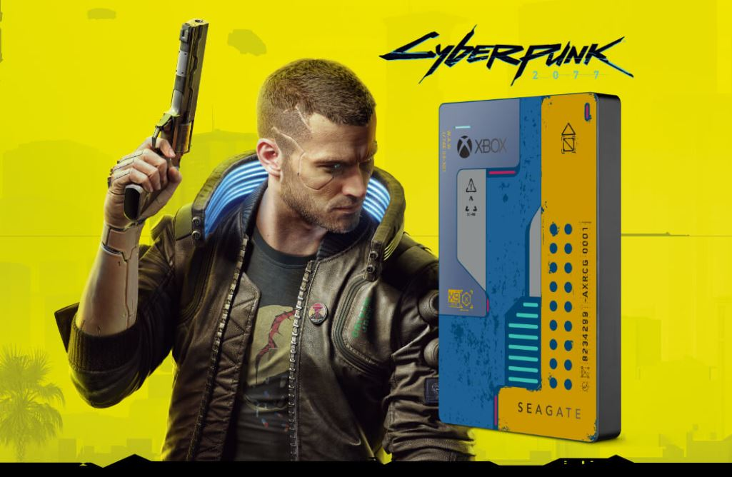 Game Drive CyberPunk 2077 Special Edition