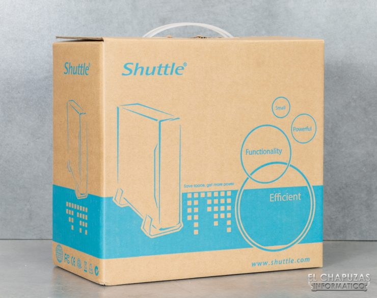 Shuttle XPC slim DS10U3 - Embalaje 1