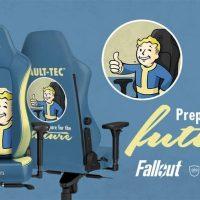 Noblechairs cierra un acuerdo con Bethesda para crear sillas gaming licenciadas de sus juegos