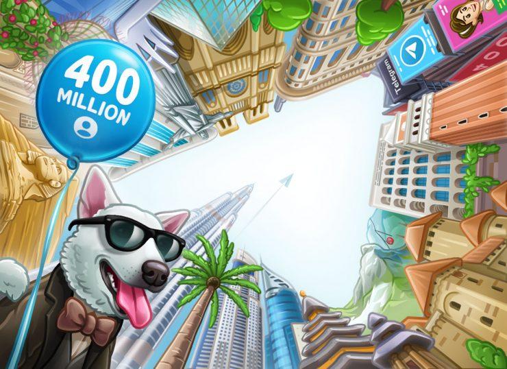 Telegram 400 millones de usuarios 740x538 0