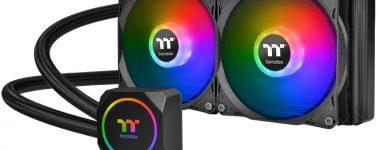 Thermaltake TH240 ARGB Sync y TH120 ARGB Sync: Líquidas AiO de 240 y 120mm con iluminación ARGB